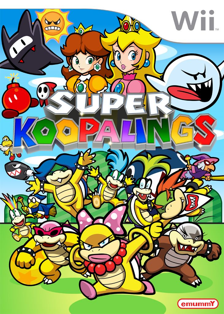 Super Koopalings Super Mario Brothers Party Super Mario Art