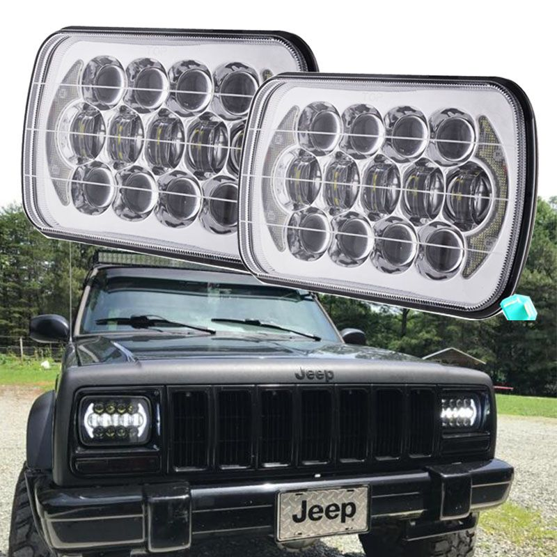 Jeep Xj Led Headlights Promo 2017 Top Sell 5x7 Inch 7 Square