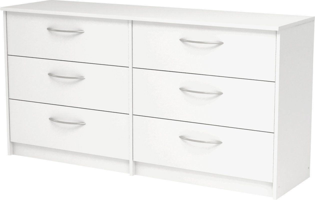 Karis 6 Drawer Double Dresser Double Dresser Dresser Drawers [ 800 x 1261 Pixel ]