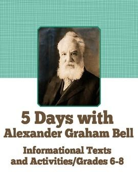 English Extended Essay Topics Three Informational Texts And  Activities On The Great Inventor Alexander  Graham Bell Where Would We Be Without Our Phones Comprehension Questions   Narrative Essays Examples For High School also Teaching Essay Writing High School Inventor Alexander Graham Bell Informational Texts Activities  Research Paper Essay Format