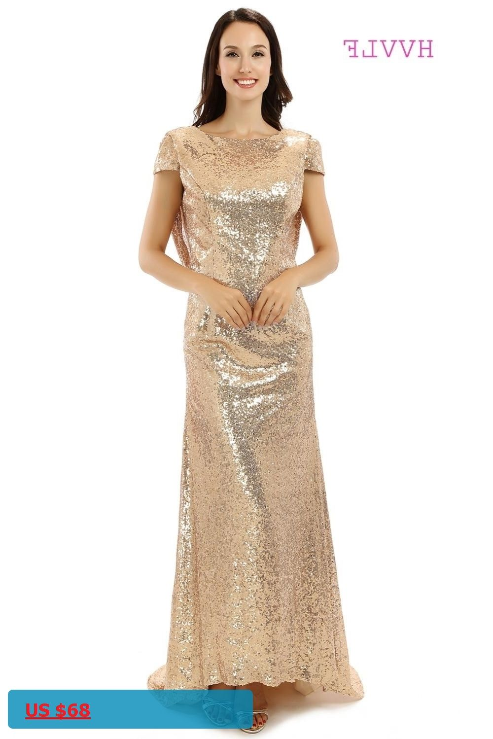 Backless 2018 cheap bridesmaid dresses under 50 mermaid cap sleeves backless 2018 cheap bridesmaid dresses under 50 mermaid cap sleeves sequins sparkle champagne long wedding party ombrellifo Choice Image