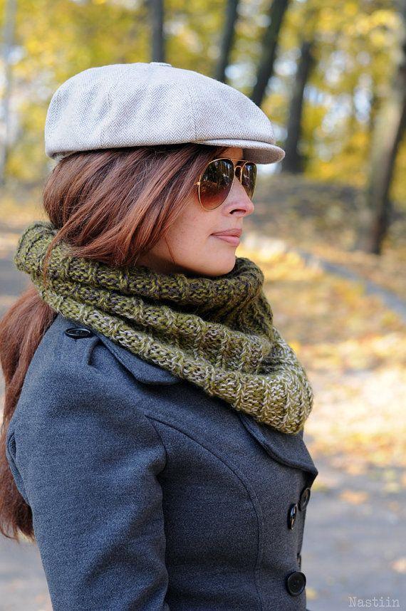 9b9345d505e69 Yellow newsboy cap Mens newsboy cap Linen cap Womens newsboy hat ...