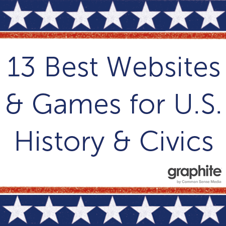 13 Best Websites and Games for U.S. History and Civics | Common Sense Education