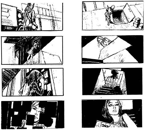 Feature Film Storyboard From Gerald FortonS Website Storyboarding