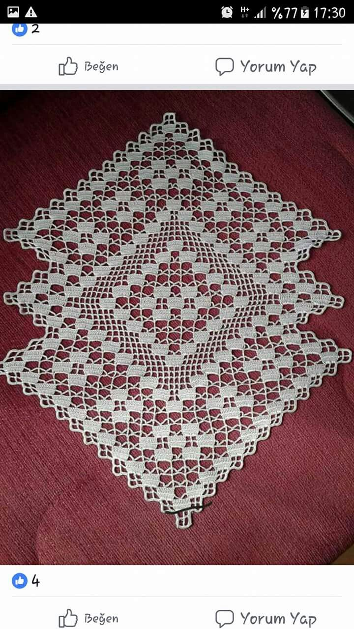 Pin de prudent marie-claude en petis napperons | Pinterest | Carpeta ...
