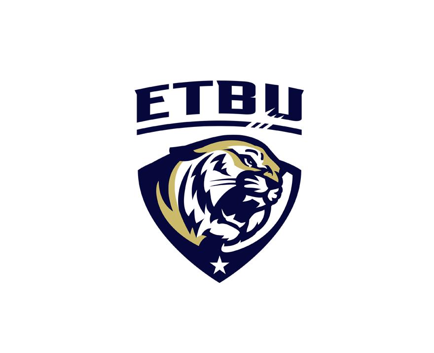 Eastern Texas Baptist University Tigers By Slavo Kiss Via Creattica Sports Logo Design Sports Logo Inspiration Logos