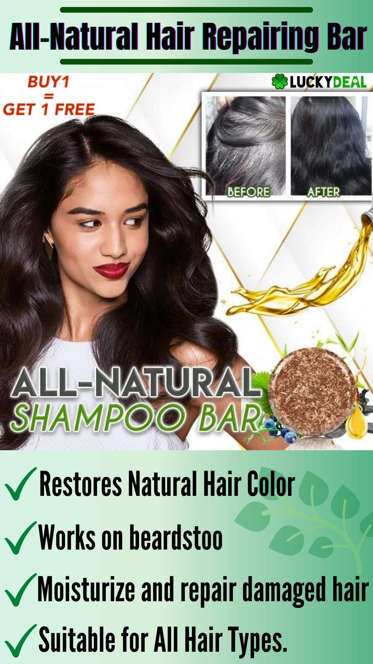 🔥All Natural Hair Repairing Bar🌿