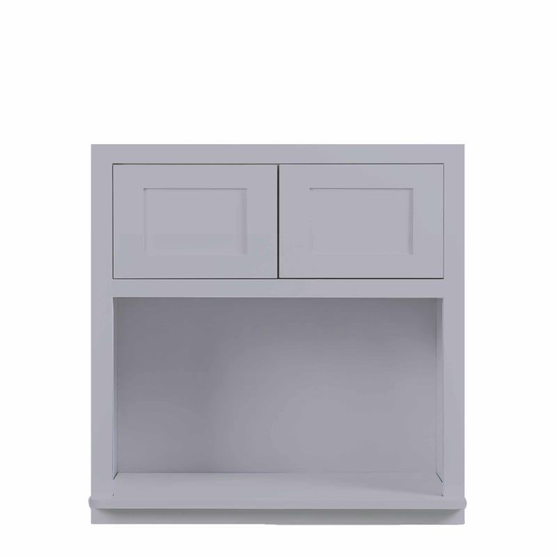 Maplevilles Cabinetry Wmc273014 In 2020 Light Grey Kitchens Door Wall Kitchen Wall Cabinets