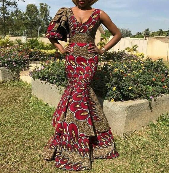 Ankara gown, ankara dress, african dress, african gown, dashiki dress, dashiki gown, african wedding, brides maid dress, ankara prom,dashiki