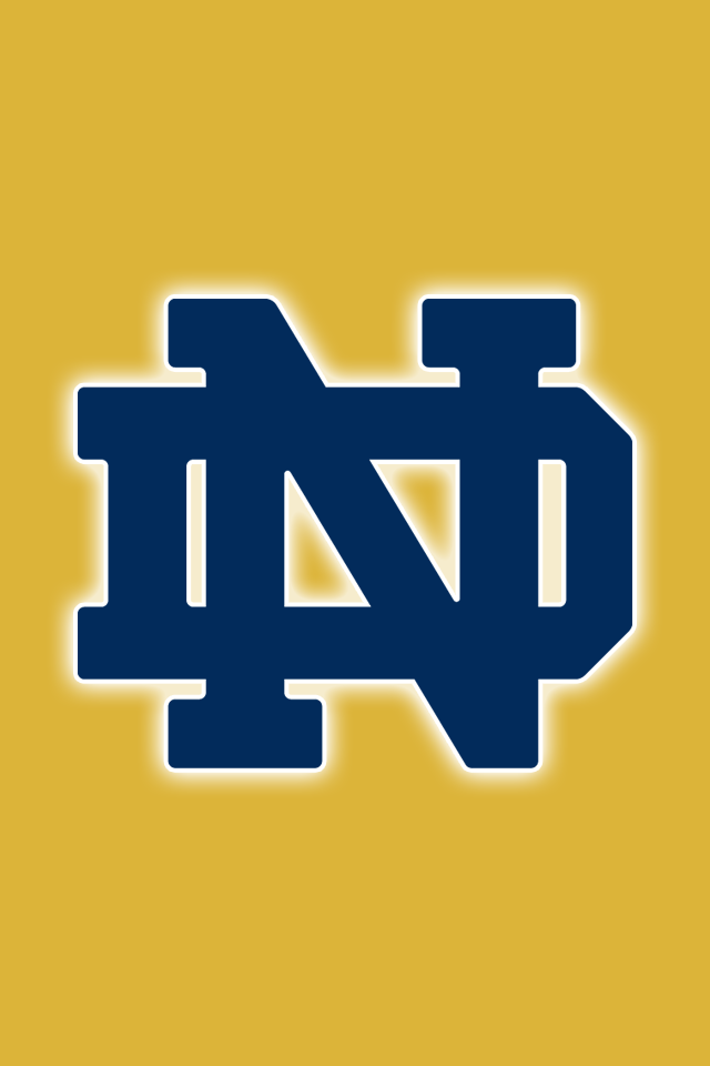free notre dame fighting irish iphone wallpapers install in seconds rh pinterest com