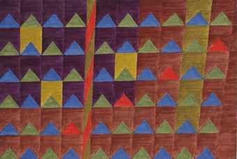 Alfredo Volpi Bandeirinhas Com Mastro No 2133 1970 S Volpi