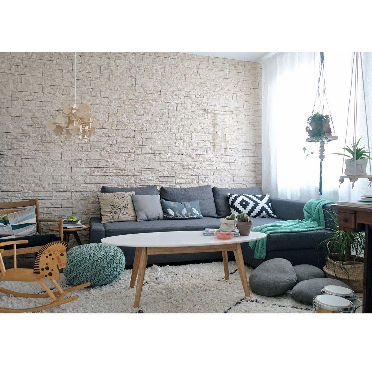 table basse ovale design scandinave skoll deco. Black Bedroom Furniture Sets. Home Design Ideas