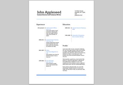 Create An EyeCatching Resume In Google Docs Pro Status   Eye Catching Resume