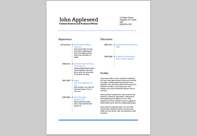 Resume On Google Docs Create An Eyecatching Resume In Google Docs  Job Search .