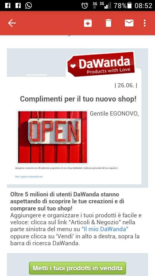 Nuovo shop Ego Novo