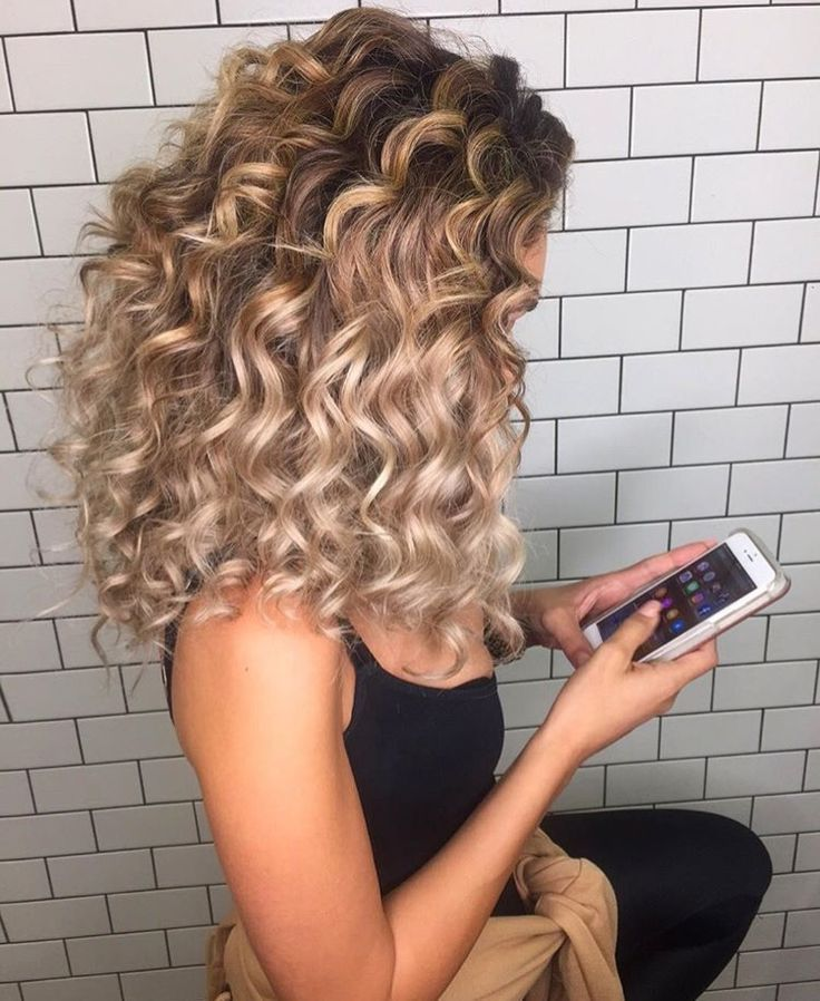 Image Result For Curly Hair Curling Iron Cabelo Cabelo