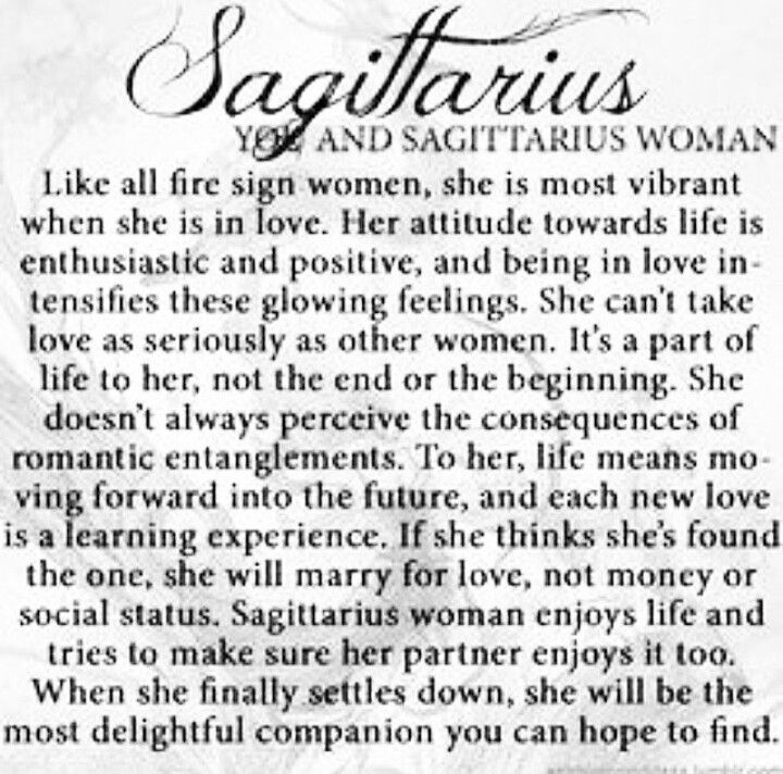 horoscope sagittarius man