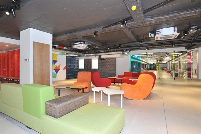 The Brightly Coloured Playroom Ensures The Work Done By The Bank Solves Real Customer Needs And Challenges Proud Innovation Design Innovation Innovation Lab