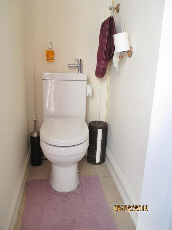 Converted Porch To Modern Toilet!