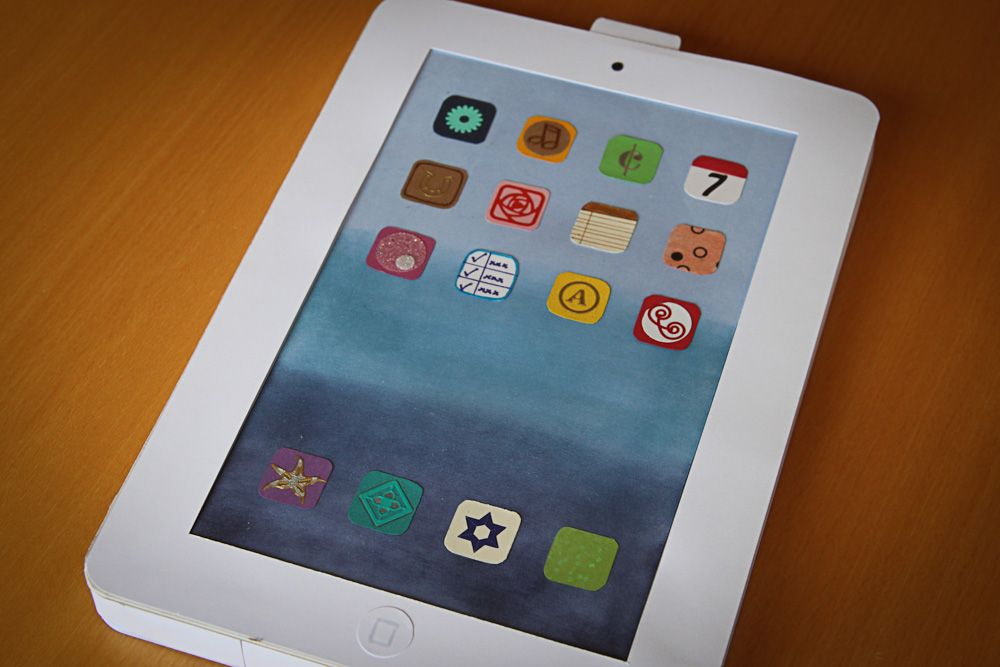 Carola´s stamping art: Knallerkarte iPad
