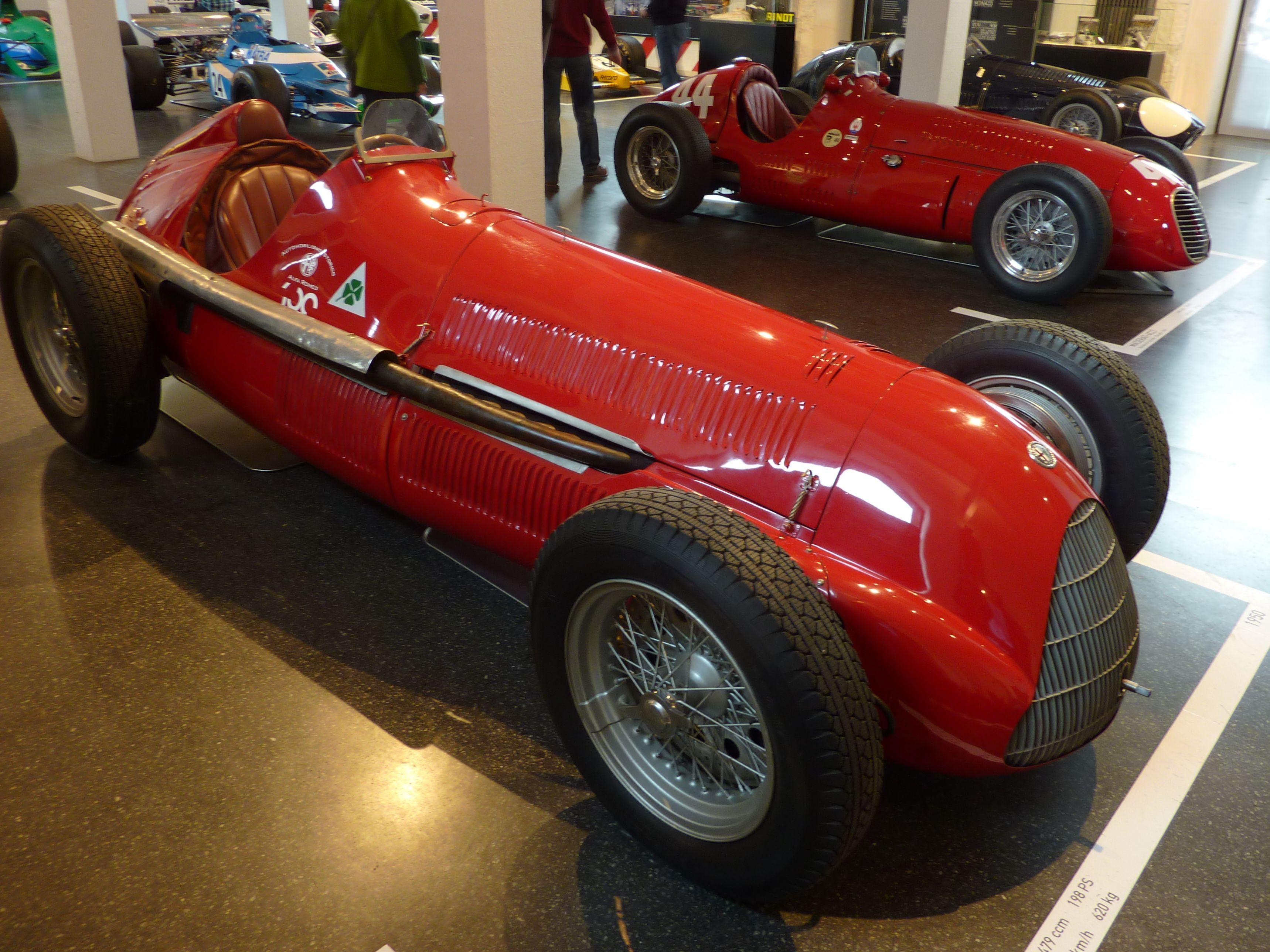 1950s Formula 1 Winners Transaxle Race Cars Open Wheeled