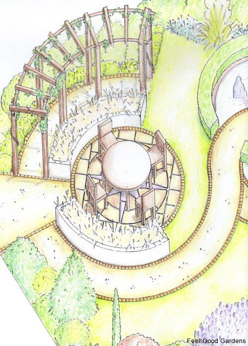 garden design kings langley axonometricperspective drawing garden design pinterest kings langley king and gardens