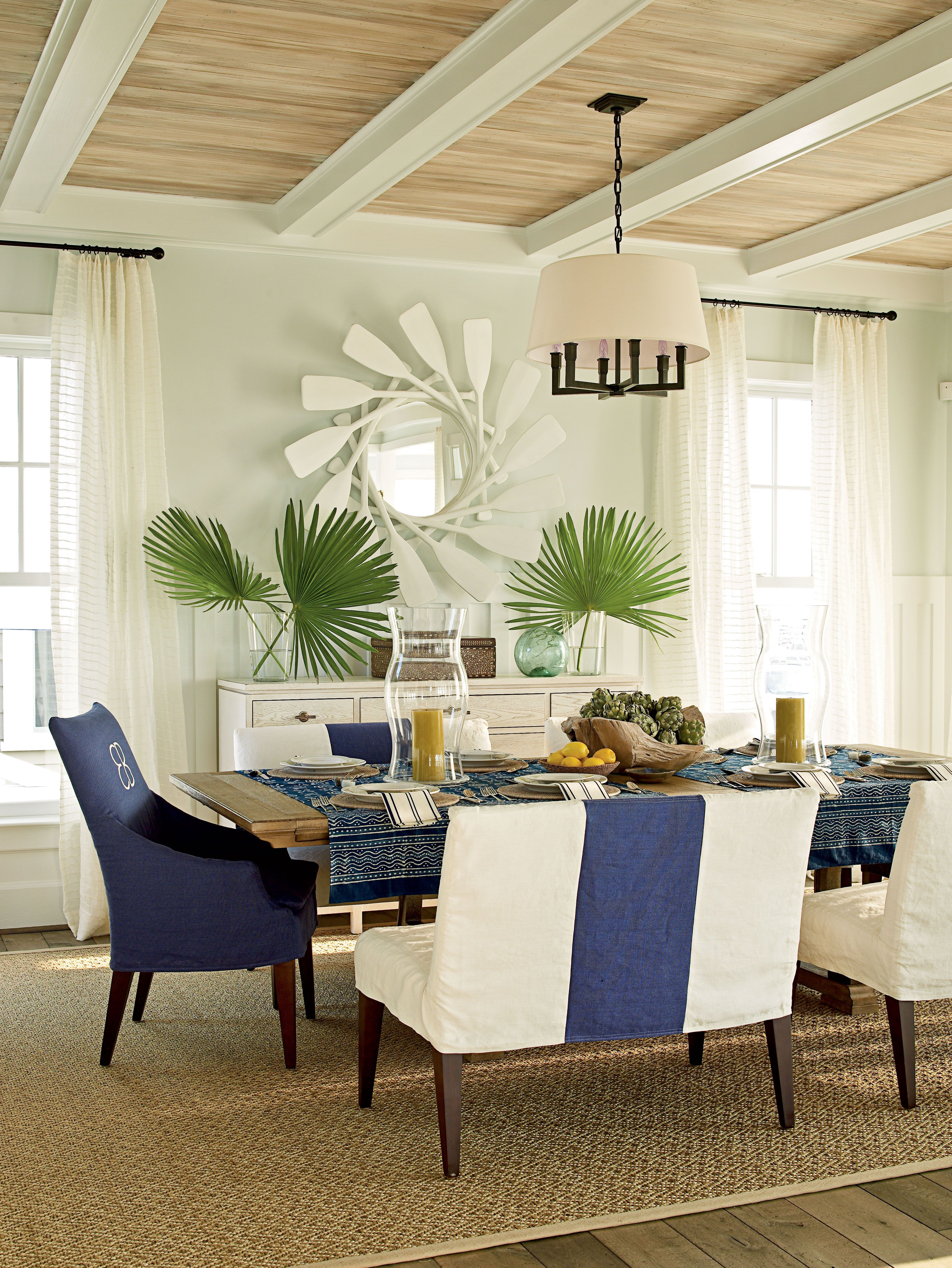 2011 Coastal Living Ultimate Beach House Dining Room  Beach Custom Beach Dining Room 2018