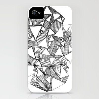 White Mind iphone case