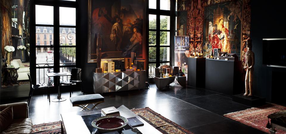 24 place des Vosges - 1) LENOTRE- HÔTEL DE VITRY: Un hôtel