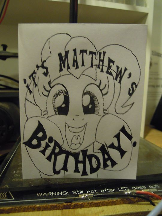 How to make a hand drawn birthday card with 0 drawing skills and an old flat screen monitor Check out the full project http://ift.tt/1MgSpTA Don't Forget to Like Comment and Share! - http://ift.tt/1HQJd81