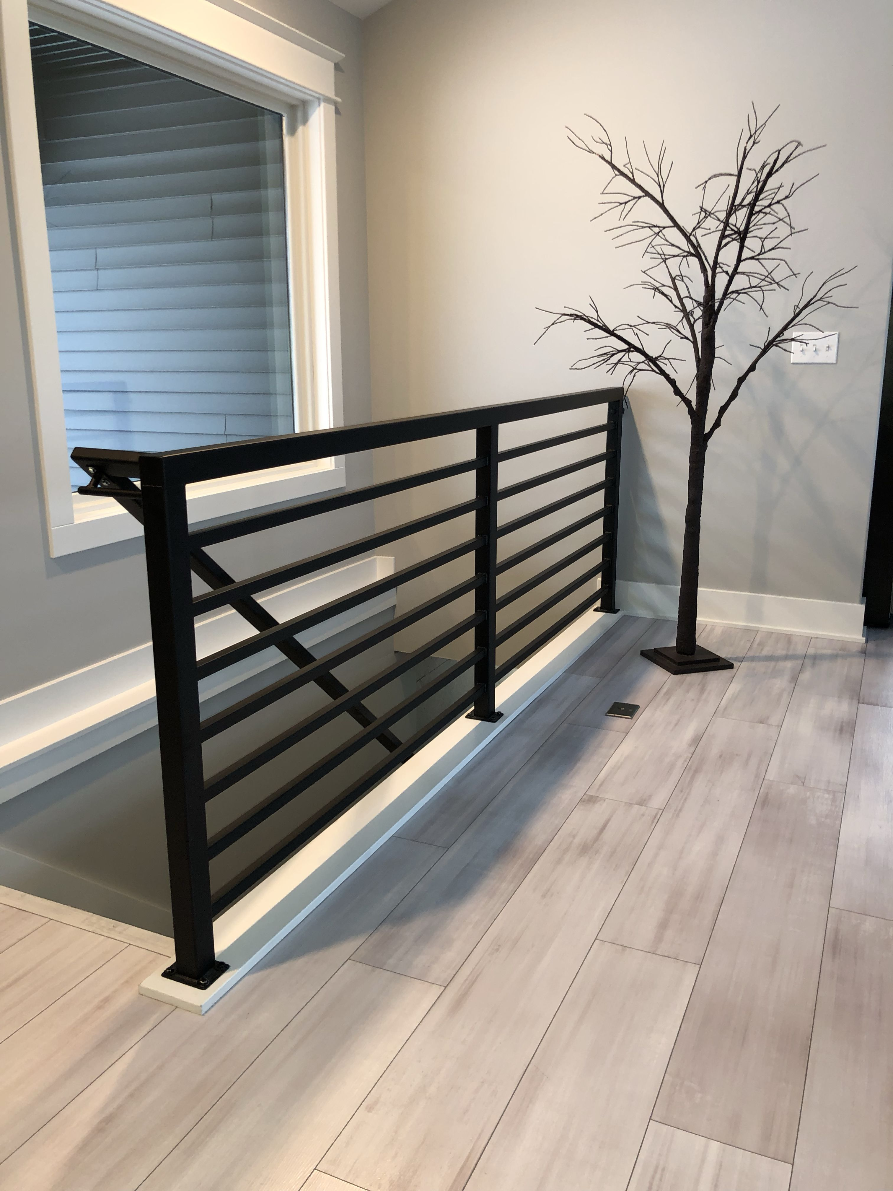 Best Beautiful Powder Coated Metal Stair Railing Stair Railing Metal Stair Railing Metal Stairs 400 x 300