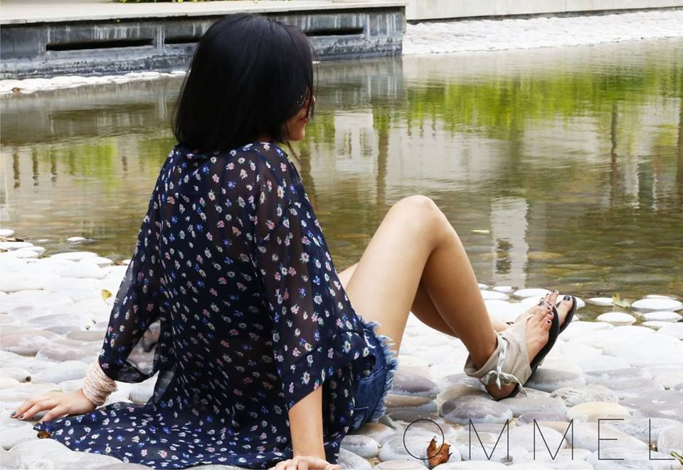 #sunday #soulsante #ommel #fashion #clothing #india #first #collection #model #photoshoot