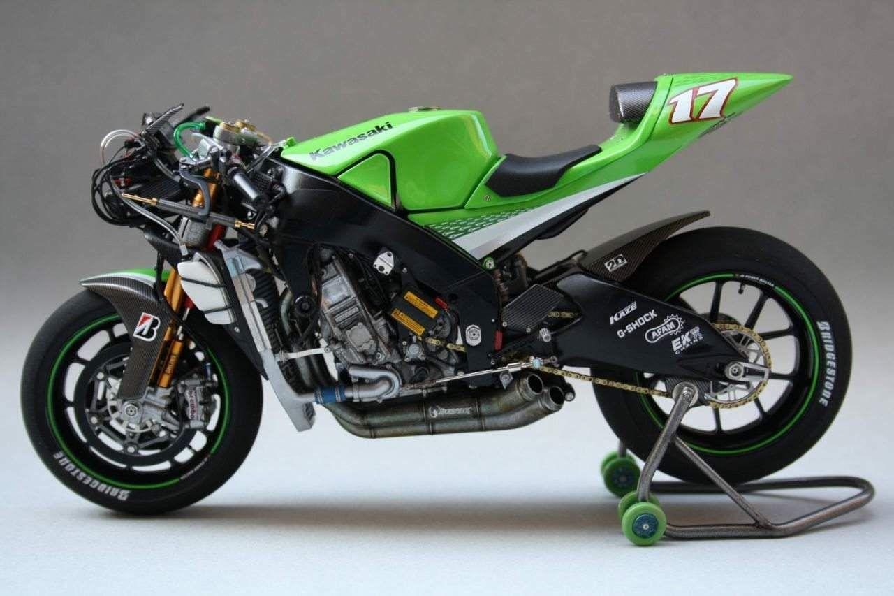 Kawasaki Ninja Zx Rr Motorcycles Kawasaki Ninja Tamiya Motorbikes