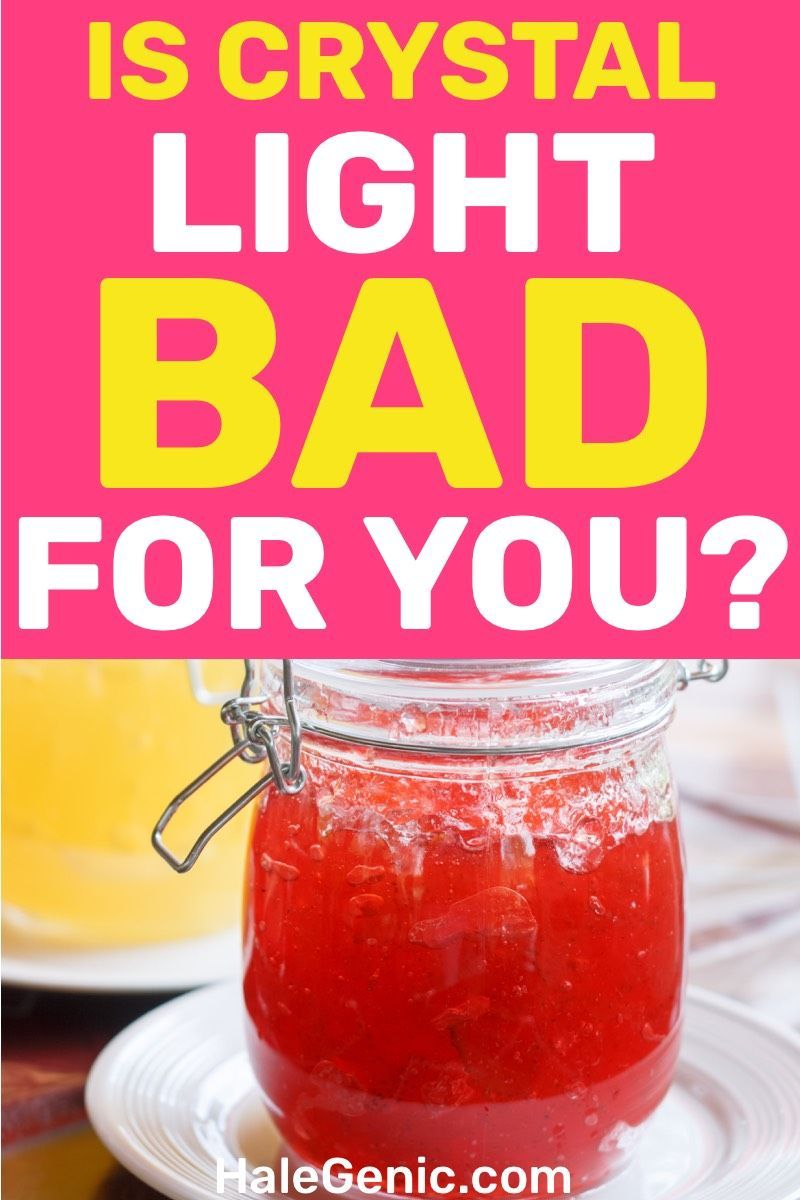 Is Crystal Light Bad For You Crystal light drinks