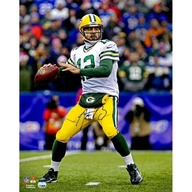 Aaron Rodgers Green Bay Packers Fanatics Authentic Autographed 16