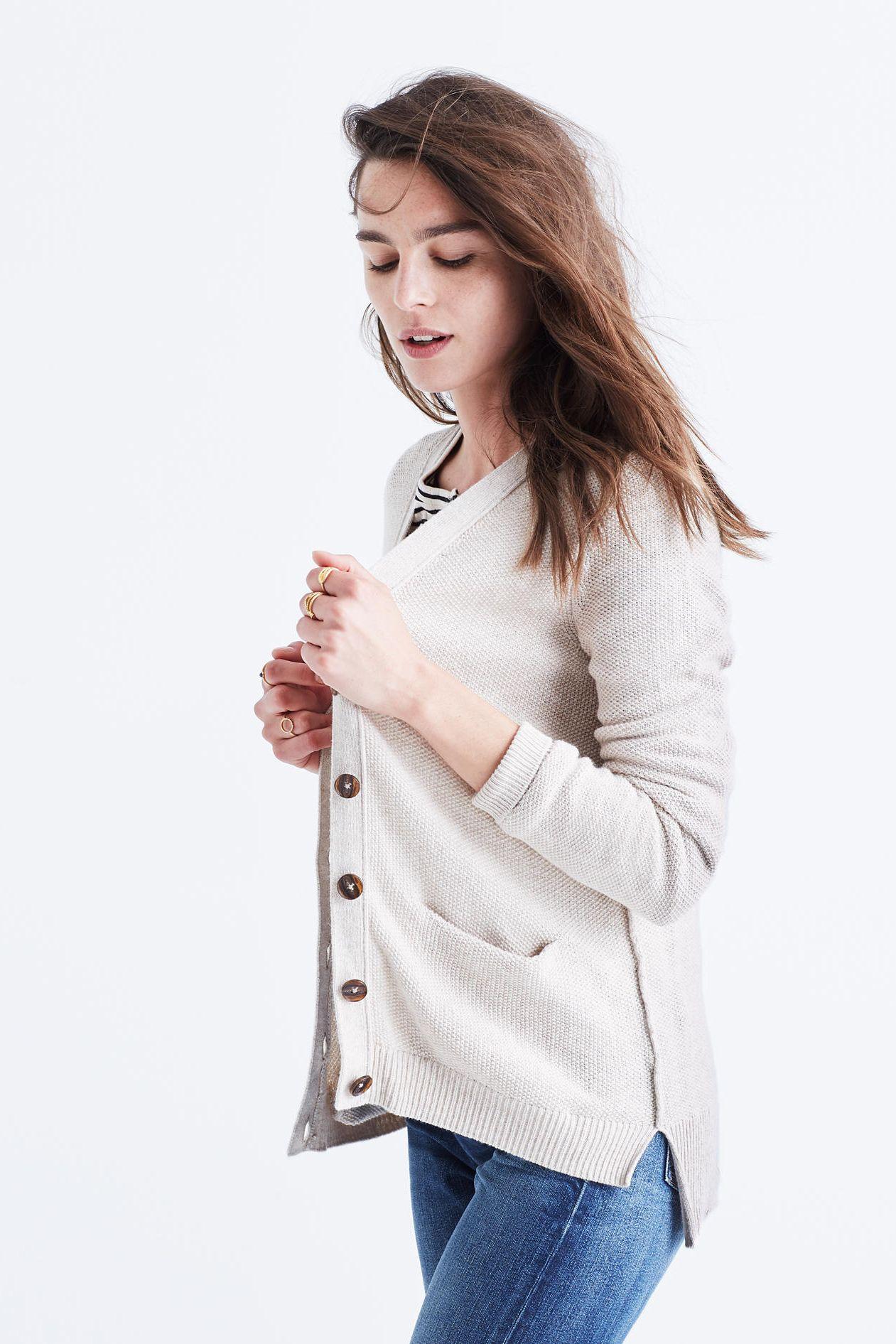 madewell seedstitch cardigan sweater | i like clothes | Pinterest ...