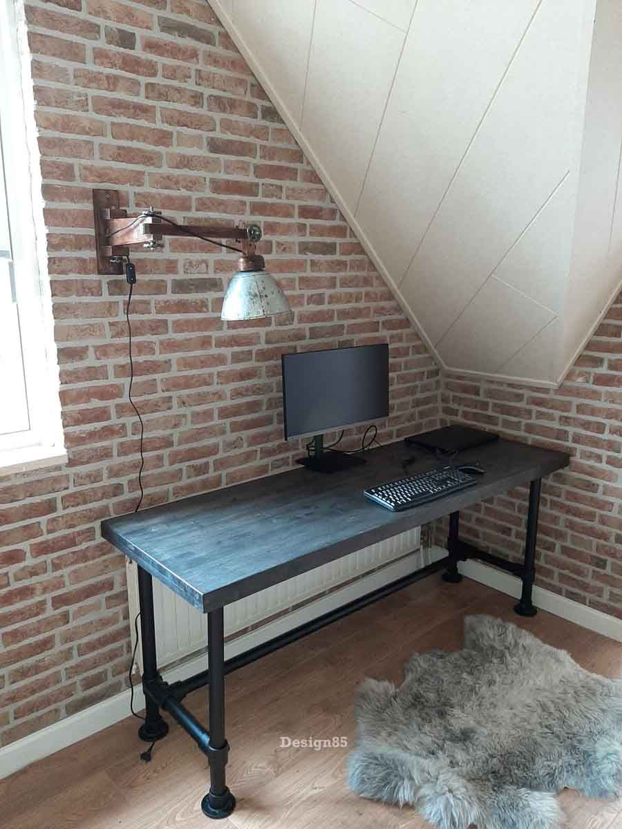 Industrieel Bureau Leef Online Kopen Design85 Gratis Bezorgd Industrieel Bureau Bureau Industrieel