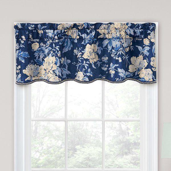 Cary Floral Curtain Valance Reviews Joss Main Curtains Window Decor