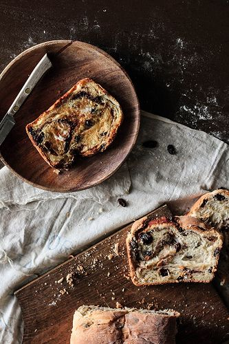 Cinnamon Raisin Swirl Bread by pastryaffair, via Flickr