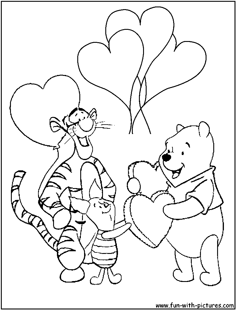 pooh and friends. | Printables | Pinterest