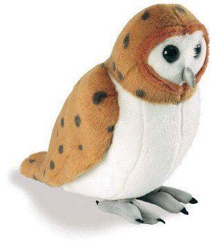 audubon society plush bird gifts wild birds   Barn Owl ...