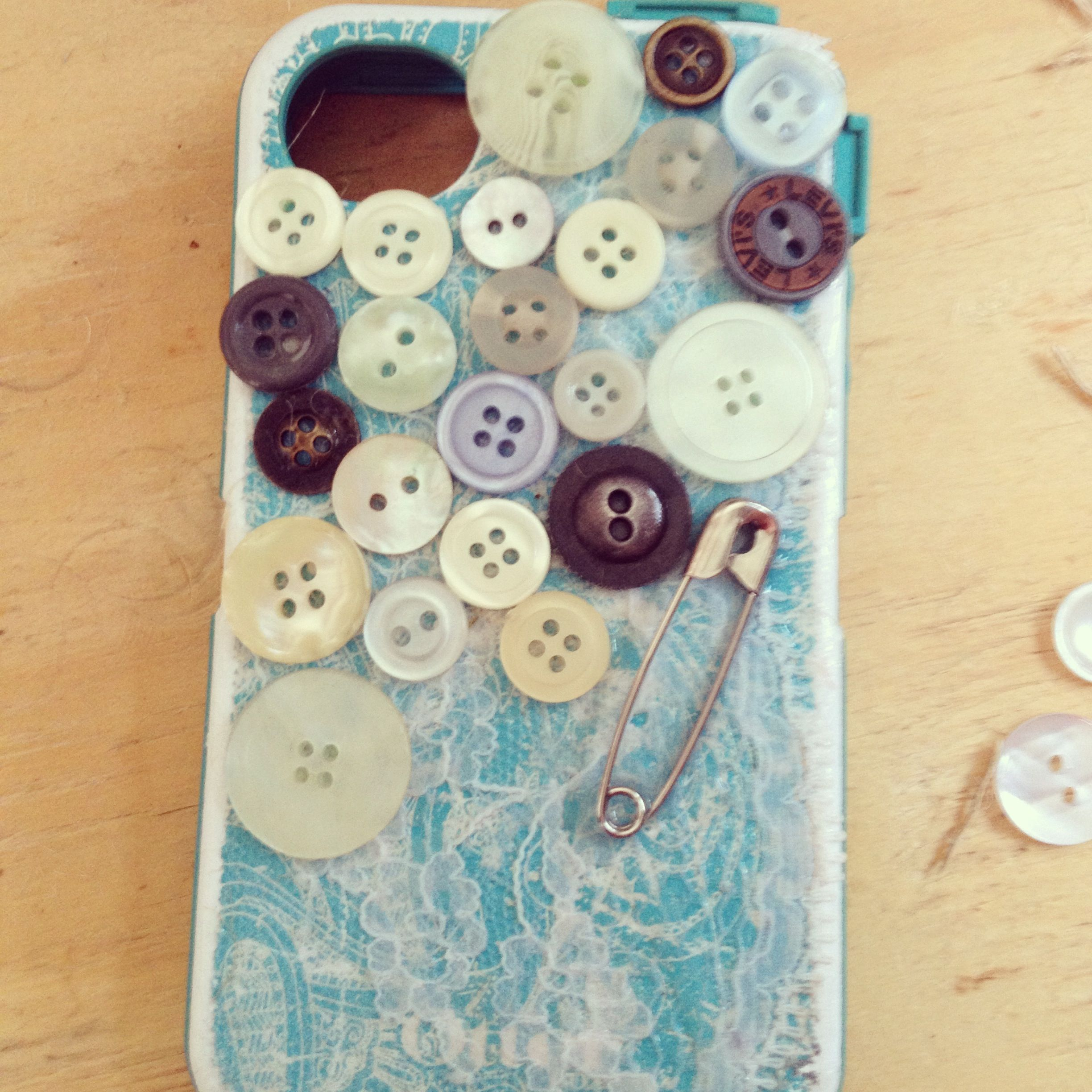 DIY otterbox phone cover