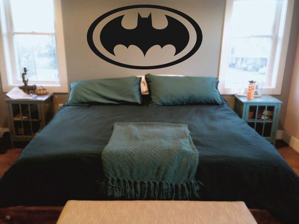 Batman Symbol Inspired Design Wall Vinyl Decalsticker In 4 Sizes