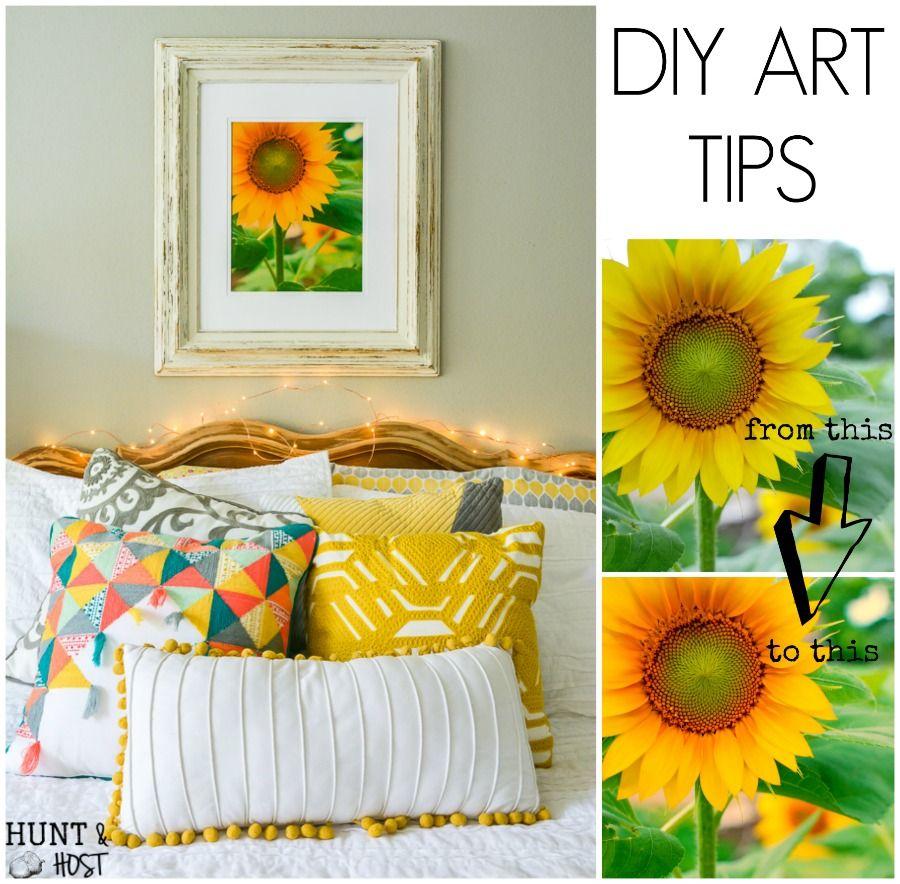 Tips for diy art using old frames diy artwork diy art and budgeting