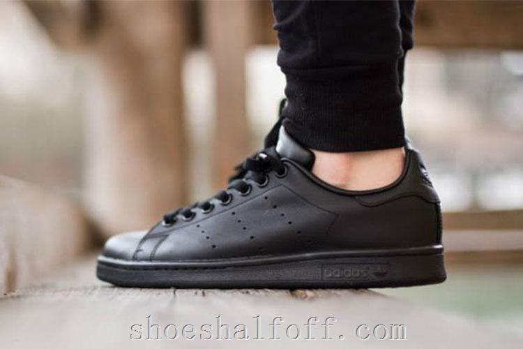Adidas Stan Smith Classic Metallic All Black M20327,Discount