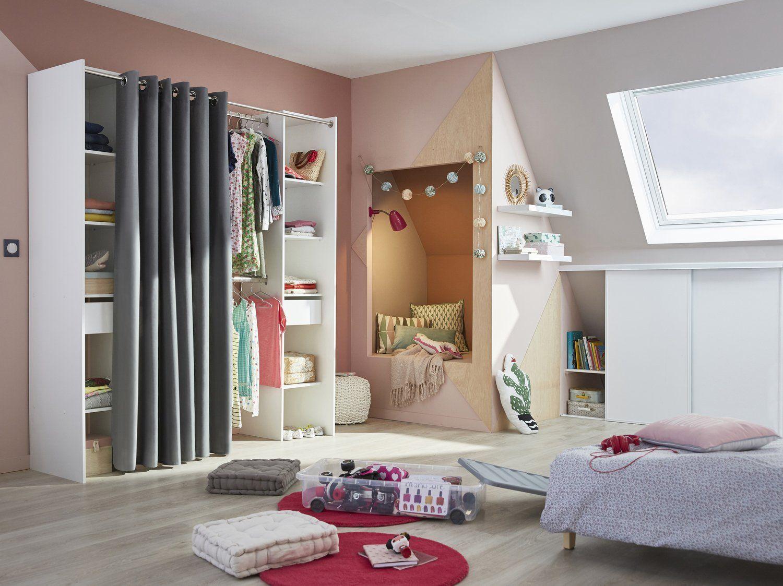 Une Chambre D Ado Cosy Et Studieuse Leroy Merlin Chambre Ado Chambres Adolescente Decoration Chambre Fille