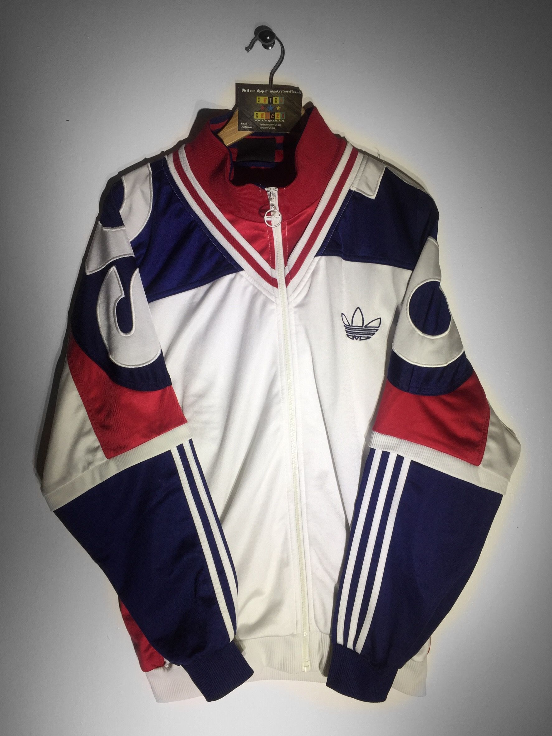 Adidas track jacket size Large(but Fits Oversized) £34