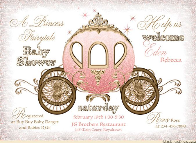 instant download pink princess baby shower diaper raffle, Baby shower invitations