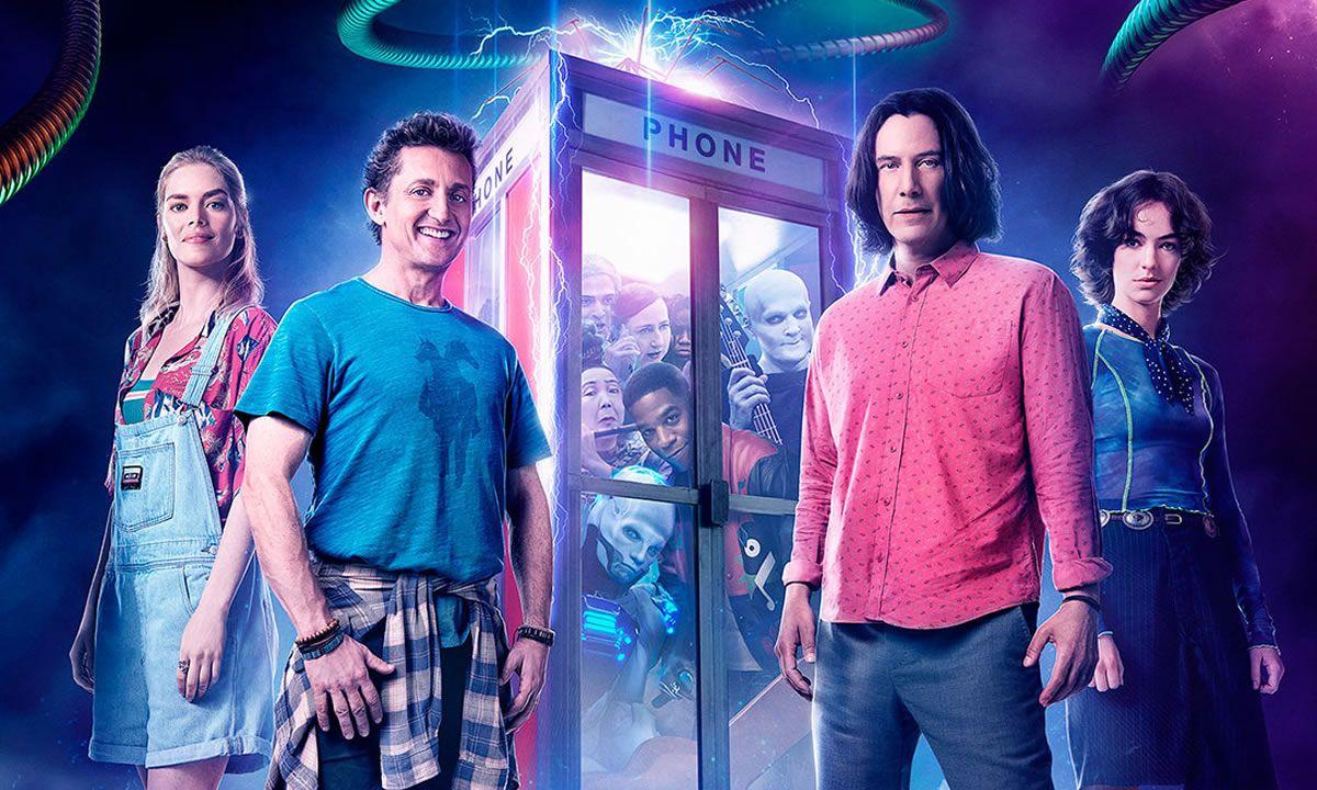 Com Video Inedito De Keanu Reeves Bill Ted Encare A Musica Ganha Data De Estreia Nacional Keanu Reeves Ted Melhores Filmes De Comedia
