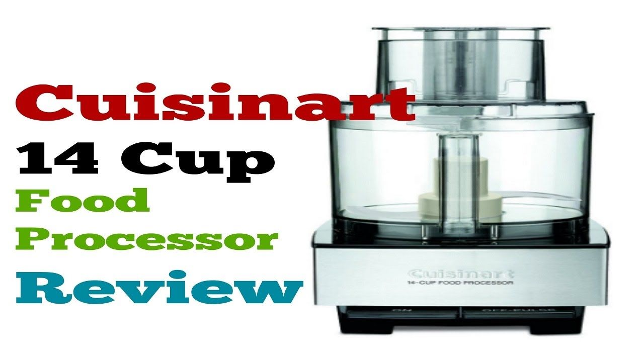 Cuisinart 14 cup food processor dfp14bcny demo video